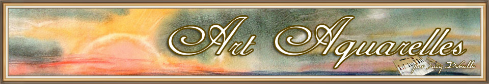 Art-Aquarelles.com : Peinture aquarelle
