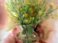Vase aux genets