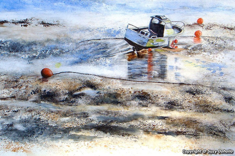 Art aquarelles peintures et tableaux l 39 aquarelle - Terre et mer compiegne ...
