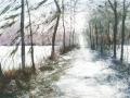 chemin-enneige-50x70