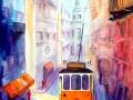 le-tramway-de-lisbonne-50x60