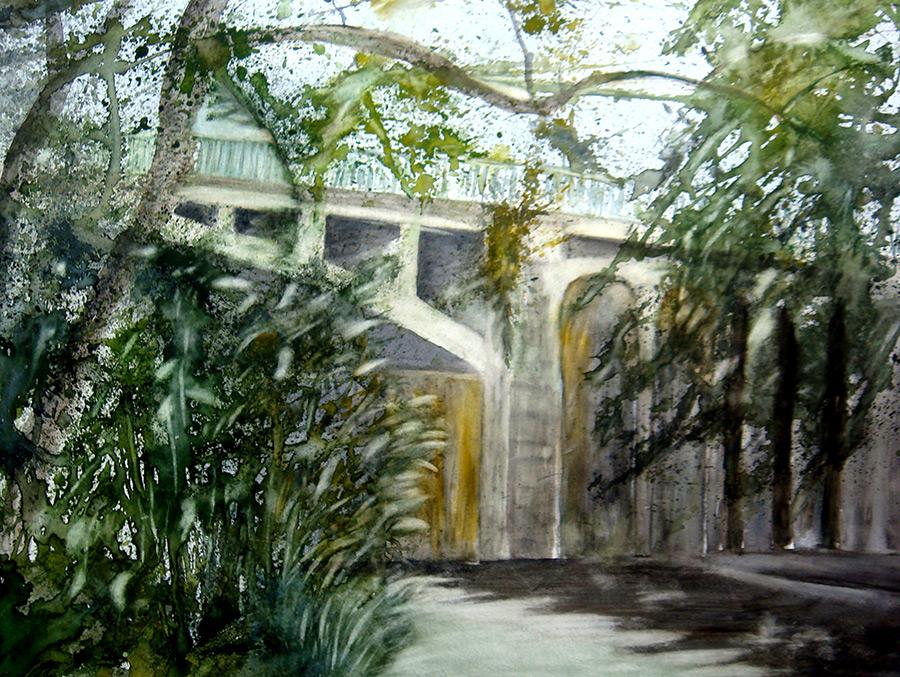 L'arche du pont à Champigny